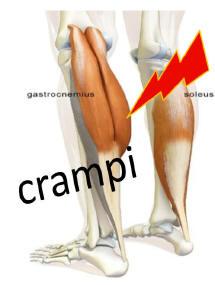 Crampi: cause, sintomi e rimedi