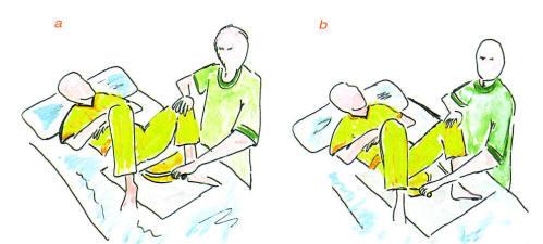 La difficile gestione del paziente allettato - Mobilizzazione paziente emiplegico letto carrozzina ...
